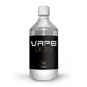 LIQUIDE Base DIY 100%VG Vape Or DiY (1 litre - 0mg)