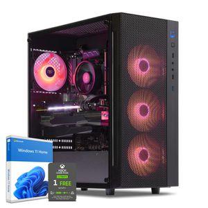 UNITÉ CENTRALE  PC Gamer, AMD Ryzen 5, RX Vega 64, 250 Go SSD, 2 T