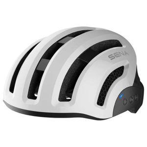 CASQUE DE VÉLO Casque vélo connecté SENA X1 Blanc Taille M (55-58