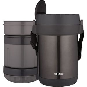 SAC ISOTHERME THERMOS Porte aliments avec 3 compartiments Jbg