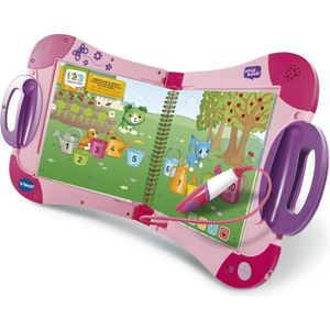 CONSOLE ÉDUCATIVE VTECH - Magibook - Starter Pack Rose