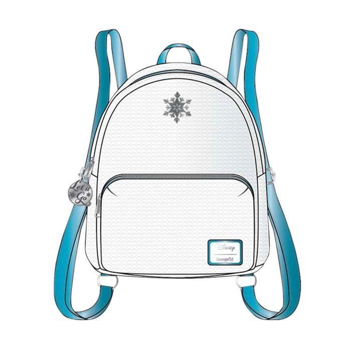 Frozen Backpack Elsa Reversible Sequin Mini nouveau officiel Loungefly Disney