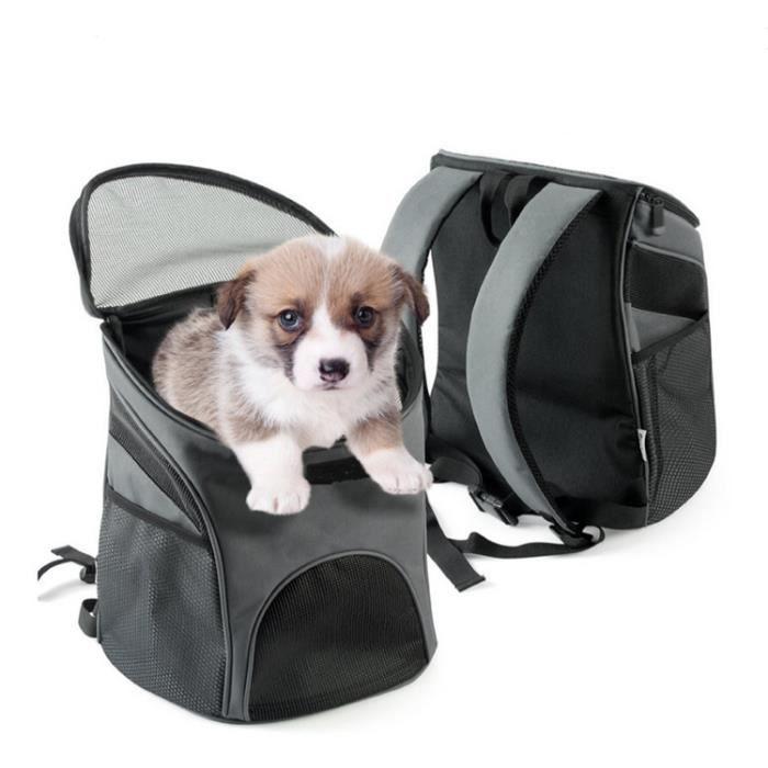 Sac Transport pour Chien Chat Sac à dos de Déplacement chien chiot