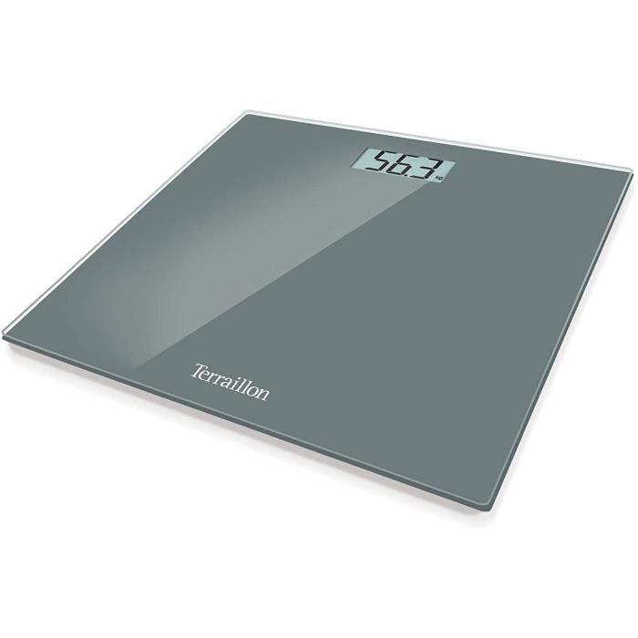 Pèse-personne Terraillon Pèse Personne Électronique, Ultra-Plat, Marche-Arrêt Automatique, Grand Écran LCD, 150kg, TX150 586441