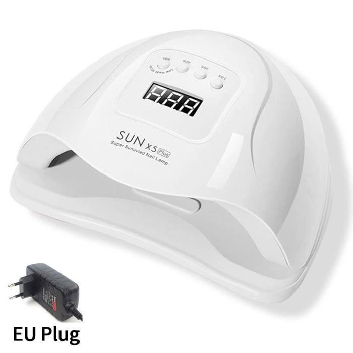 SUN X5 PLUS EU -LAMPE À UV LED POUR Manucure sèche ongles Avec 45 Pièces LED écran LCD Lampe POUR Gel Vernis séchage Lampe Pour Ongl