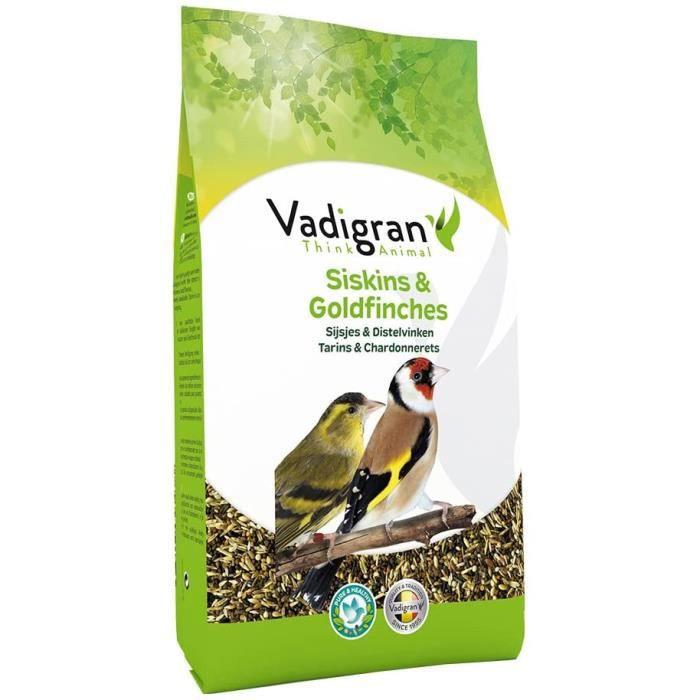 Nourriture pour oiseaux Vadigran Nourriture pour Tarins & Chardonnerets- 800g 127910