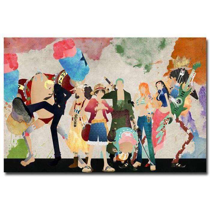 Toile peinture décor à la maison une pièce monde fort personnages photos moderne imprimé affiche pour salon mur Art cadr~13591