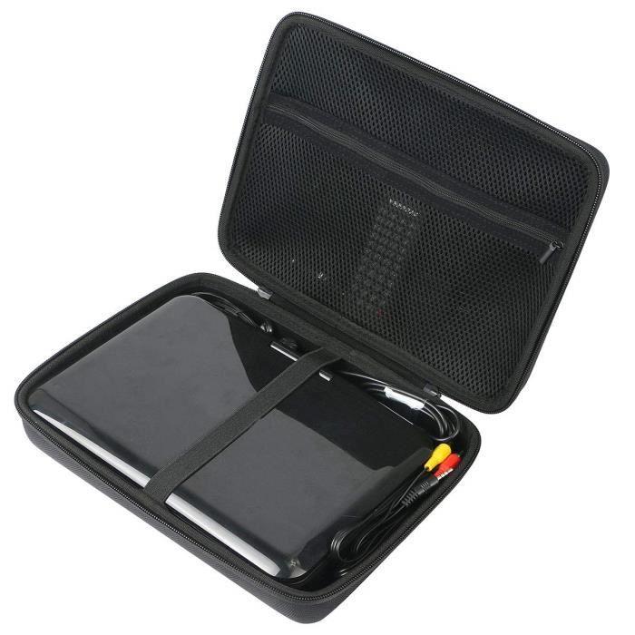 Khanka Étui de Transport Portable pour Lecteur DVD Portable APEMAN 10,5-