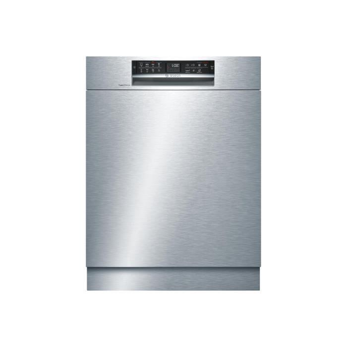 Bosch Serie - 6 SuperSilence SMU68MS02E Lave-vaisselle intégrable Niche largeur : 60 cm profondeur : 55 cm hauteur : 81.5 cm…