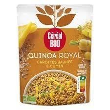 CEREAL BIO Quinoa royal Carottes jaunes et cumin