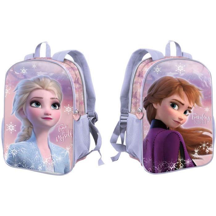 Sac a dos La Reine des Neiges (Frozen) -Sac à Dos Dual (Petit) 32 x 25 x 12 cm