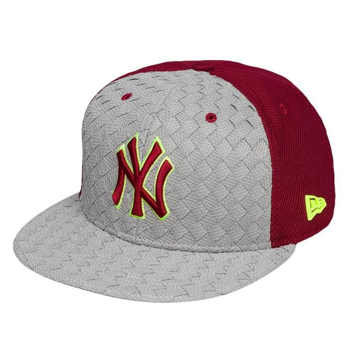New Era Homme Casquettes / Snapback Woven Front Visor New York Yankees