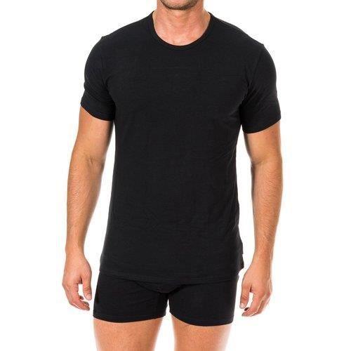 T-shirts Calvin Klein noir pack de 2. NB1088A 001.