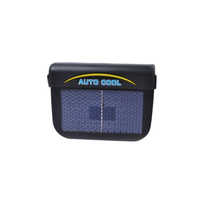 Ventilateur automatique de voiture solaire rechargeable de ventilateur de ventilation de de de CHAUFFAGE D'APPOINT POUR VEHICULE