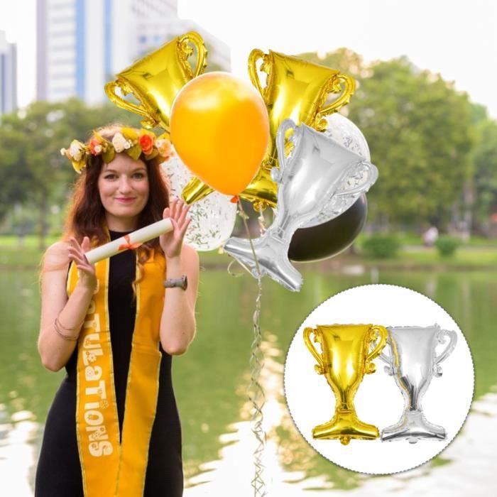 10 pièces Partie Ballons Décoration Trophée Ballon pour Fête En Plein Air Intérieur BALLON SUISSE - GYM - SWISS