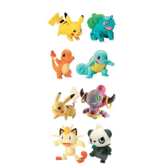 Tomy 21736781, Multicolore, Garçon-Fille, Pokémon, 8 pièce(s), 114 mm, 50 mm