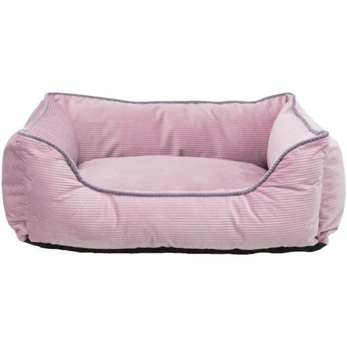 TRIXIE Lit Lupo - Vieux rose - 60 × 50 cm - Vieux rose - Pour chien