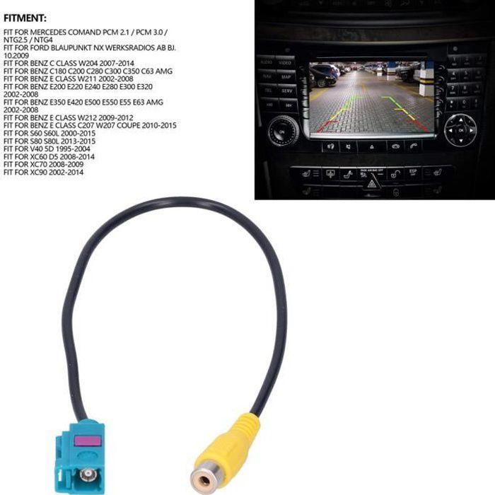 Câble adaptateur de caméra de recul Câble d'adaptateur vidéo de caméra de recul cordon de noyau de cuivre adapté -ZAT