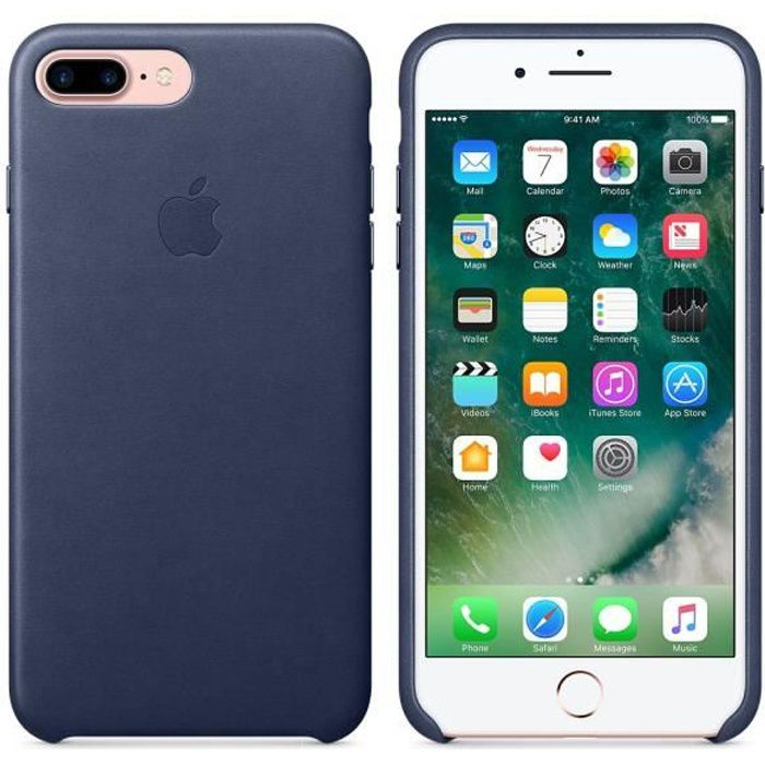 coque apple iphone 7 plus bleu