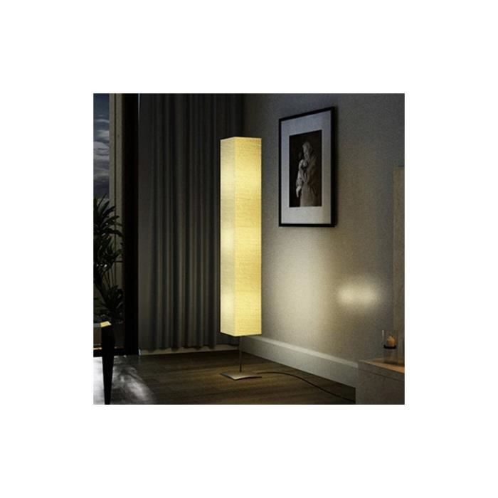 lampe de salon sur pied alu 170 cm achat vente lampe. Black Bedroom Furniture Sets. Home Design Ideas
