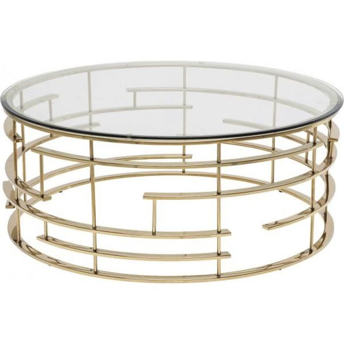 table basse ronde jupiter 100 cm kare design achat. Black Bedroom Furniture Sets. Home Design Ideas