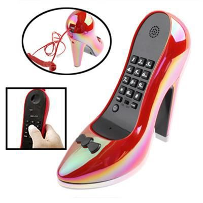 t l phone filaire mod le chaussure talon rouge achat vente t l phone fixe t l phone. Black Bedroom Furniture Sets. Home Design Ideas
