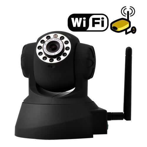 camera de surveillance ip wifi capteur infrar achat. Black Bedroom Furniture Sets. Home Design Ideas