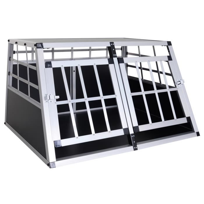 cage de transport pour chien en aluminium xl no achat vente caisse de transport cage pas. Black Bedroom Furniture Sets. Home Design Ideas