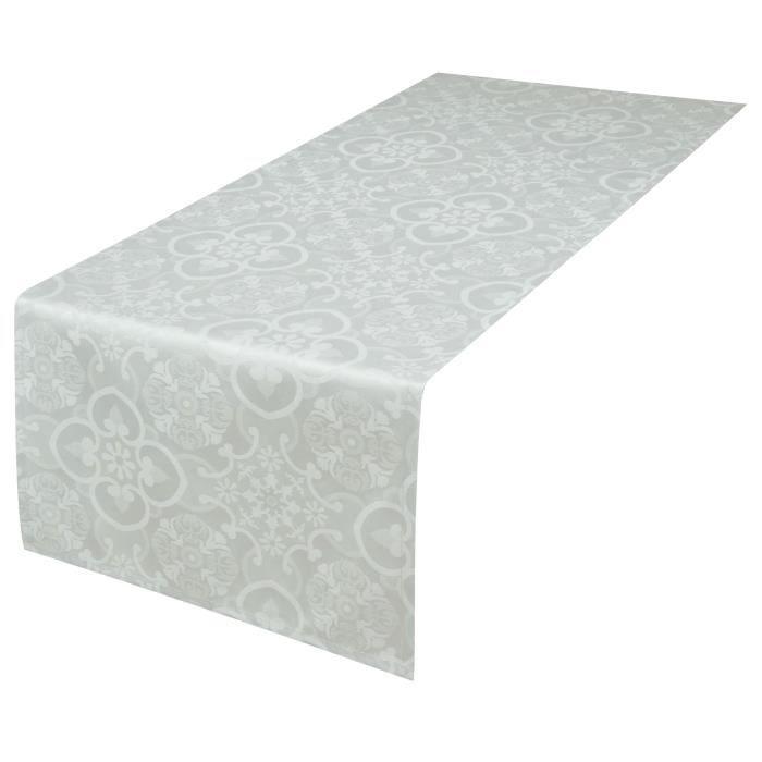 CHEMIN DE TABLE VENT DU SUD Chemin de table FARO - 47x150 cm - Bla