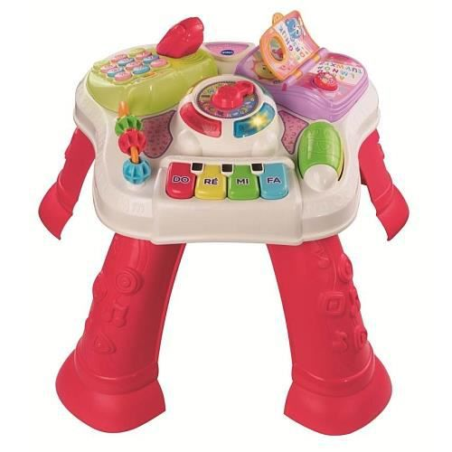 Vtech ma table d 39 veil parlante 2 en 1 rose achat vente table jouet d 39 activit cdiscount - Table d activite leapfrog ...