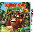 SORTIE JEUX VIDEO DONKEY KONG COUNTRY RETURNS 3D / Jeu 3DS