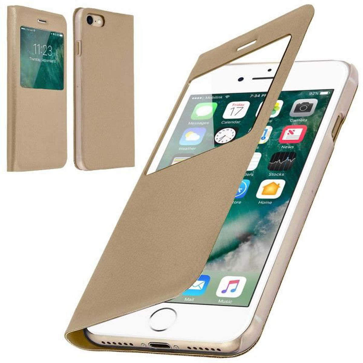 coque iphone 8 rabattable
