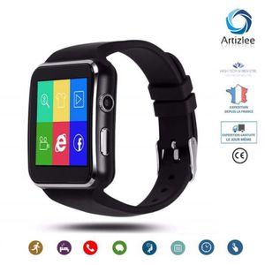 MONTRE CONNECTÉE Montre Connectée, Bluetooth Smartwatch ARTIZLEE® B