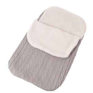 COUVERTURE - PLAID BÉBÉ Sac de couchage à langer pour bébé, poussette Soft
