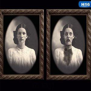 CADRE PHOTO 3D Halloween Horreur Mur Lenticulaire Gothique Pho