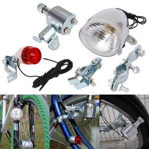 Anlun DEL Batterie-Phares 20 Lux Avec Code de la route lampe de vélo fourche montage