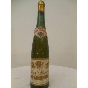 VIN BLANC pinot gris salzmann blanc 1959 - alsace france