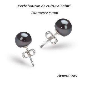 Boucle d'oreille AO Boucles d'oreille Perle Culture Tahiti Arge