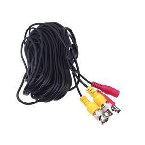 CAMÉRA DE SURVEILLANCE 4pcs 32ft connecteur BNC DC Power Video siamois câ