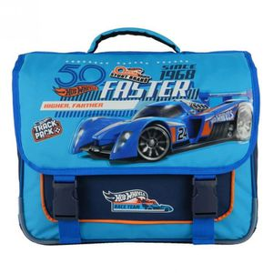 CARTABLE CARTABLE 38CM BLEU-HOT WHEELS MATTEL VOITURE