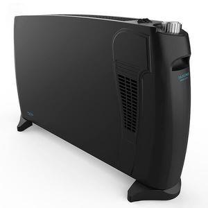 Radiateur Electrique Noir 2000w