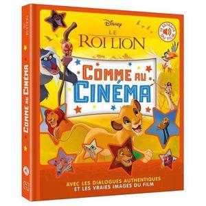 LIVRE 0-3 ANS ÉVEIL Livre - Disney comme au cinéma ; le Roi Lion