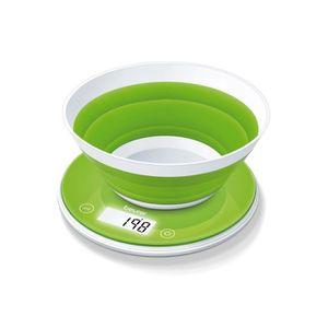 BALANCE ÉLECTRONIQUE Beurer Balance de cuisine avec bol pliable KS 45