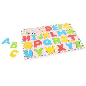 PUZZLE Puzzle en encastrer alphabet majuscule en Bois