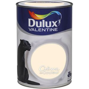dulux valentine creme de couleur achat vente dulux. Black Bedroom Furniture Sets. Home Design Ideas