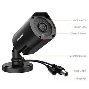 CAMÉRA IP FLOUREON Caméra de Surveillance Intérieur Extérieu