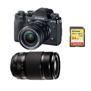 APPAREIL PHOTO RÉFLEX FUJIFILM X-T3 Black + XF 18-55mm F2.8-4 Black + XF