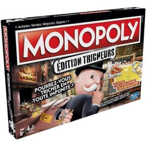 JEU SOCIÉTÉ - PLATEAU Monopoly Tricheurs - Jeu de societe - Jeu de plate