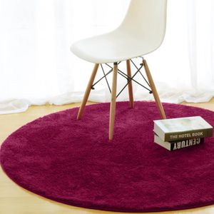 tapis rond 120 cm achat vente tapis rond 120 cm pas cher cdiscount. Black Bedroom Furniture Sets. Home Design Ideas