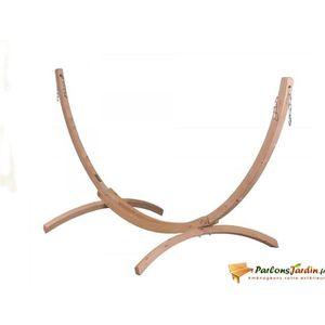 HAMAC Support pour hamac double en bois Canoa